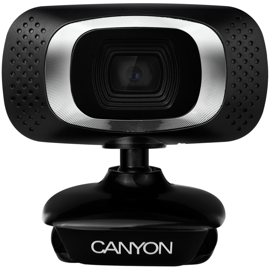 CANYON 720P HD webcam with USB2.0. connector, 360? rotary view scope, 1.0Mega pixels, Resolution 1280*720, viewing angle 60?, ca