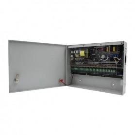Surse alimentare 12V pentru camere Sursa alimentare CCTV 12V 12A 16 iesiri STR1212-16C Strong Euro Power
