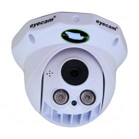 EyecamCamera IP HD 720P dome de interior Eyecam EC-1201