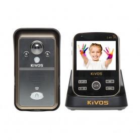 KivosVideointerfon wireless KIVOS KDB301 cu senzor de prezenta