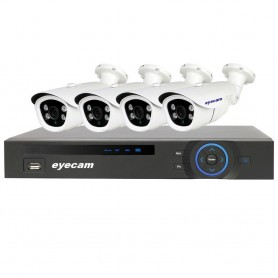 NVR 4K, 8 canale 12MP - HIKVISION DS-7608NI-I2