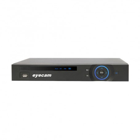 EyecamNVR 9 Canale ultra HD 4K / 5MP Eyecam EC‐NVR1305