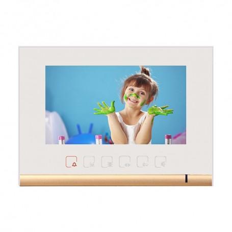"LeelenPost interior videointerfon 7"" color Leelen N72B alb"