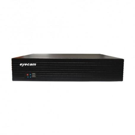 EyecamDVR 32 Canale Pentabrid 5 in 1 XVR 1080N 8MP Eyecam EC-XVR4108
