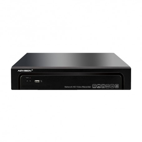 AEVISIONNVR 4 Canale 4K/5MP/3MP/2MP Aevision N6000-4EX