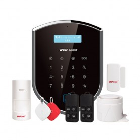 Sisteme de alarma Sistem de alarma wireless WiFi GSM Wolf-Guard YL-007WM2GR Wolf-Guard