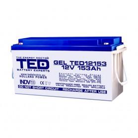 TEDBATERIE GEL TED12153M8 12V 153Ah