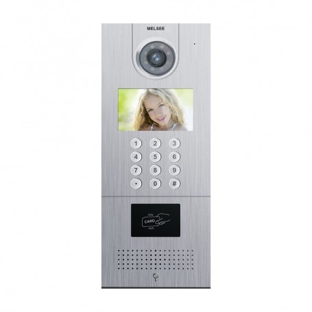 """Videointerfoane POST EXTERIOR VIDEOINTERFON TCP/IP 4.3"""" COD ACCES MELSEE MS301C-ID Melsee"""