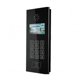 """MelseePOST EXTERIOR VIDEOINTERFON TCP/IP 7"""" COD ACCES MELSEE MS302C-ID"""