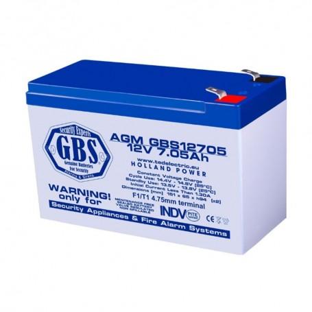 Baterii AGM VRLA ACUMULATOR AGM VRLA 12V 7.05AH BA088472 TED ELECTRIC TED
