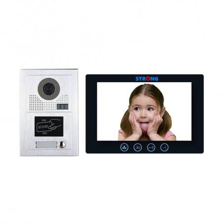 """Strong Euro PowerVIDEOINTERFON IP CU CITITOR DE CARD 10"""" STRONG-16"""