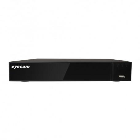 EyecamDVR 8 Canale Pentabrid 5 in 1 XVR full HD 8MP Eyecam EC-XVR4113