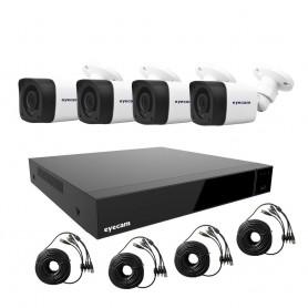 EyecamSistem supraveghere video 5MP 4 camere Eyecam