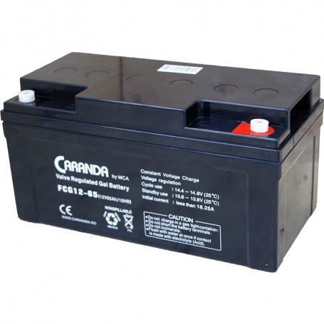 Baterii si acumulatori Baterie Gel VRLA Caranda 12V 65A Caranda