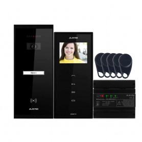 """ELECTRAVideointerfon Electra Smart+ 3.5"""" pentru o familie montaj incastrat - negru"""