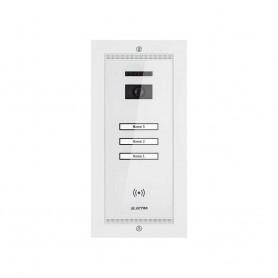 ELECTRAPanou video smart exterior Electra 3 familii montaj incastrat alb