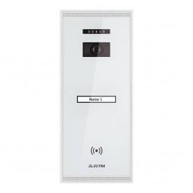 ELECTRAPanou video exterior Electra Smart 1 familie montaj aparent - alb