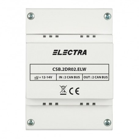 ELECTRADoza Separatie ELECTRA cu 2 intrari și 2 iesiri