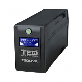 TEDUPS TED Electric 1600VA / 900W Line Interactive cu 4 iesiri schuko