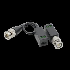 Video balun pasiv HD pentru camerele TVI-CVI-AHD (set 2 buc.)  UTP101P-HD3