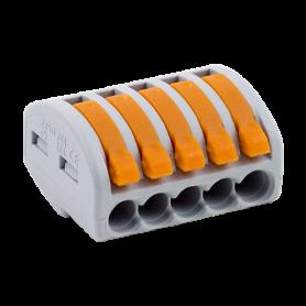 Conector derivatie tip WAGO 5 fire (10 buc.) W-415