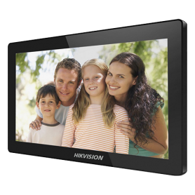 Monitor videointerfon TCP/IP Wireless, Touch Screen IPS-TFT LCD 10 inch - HIKVISION DS-KH8520-WTE1