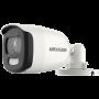 ColorVU - Camera AnalogHD 5MP, lentila 2.8mm, lumina alba 20 m - HIKVISION DS-2CE10HFT-F28