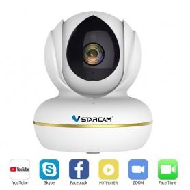 Camera IP Wireless cu functie Webcam Vstarcam CU2 full HD 1080P Pan/Tilt