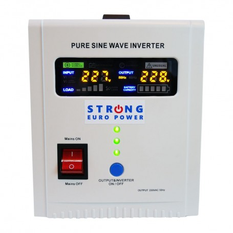 UPS centrala termica Strong Euro Power PRO-800E 800VA 500W 12V
