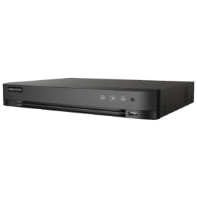 DVR AcuSense 8 ch. video 8MP, Analiza video, AUDIO HDTVI 'over coaxial' - HIKVISION iDS-7208HUHI-M1-S