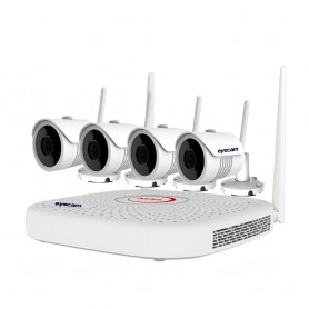 Sistem Supraveghere Video Wireless 5MP 25M 4 Camere Eyecam
