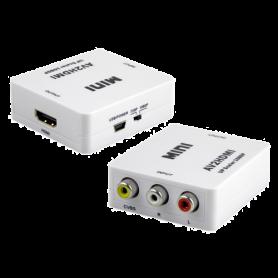 Convertor activ - HDMI la semnal AV/CVBS HDMI-AV