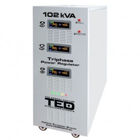 Stabilizator retea maxim 102KVA-SVC cu servomotor trifazat