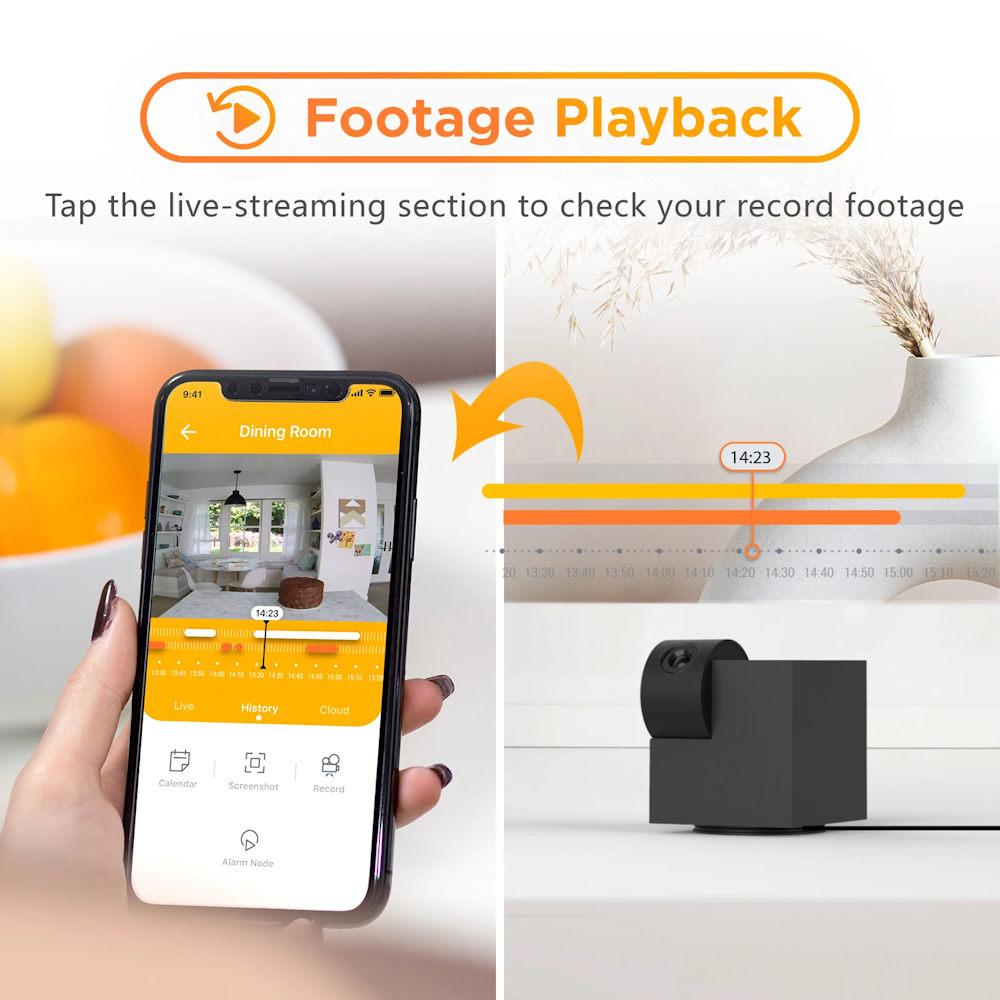 camera wireless laxihub p1