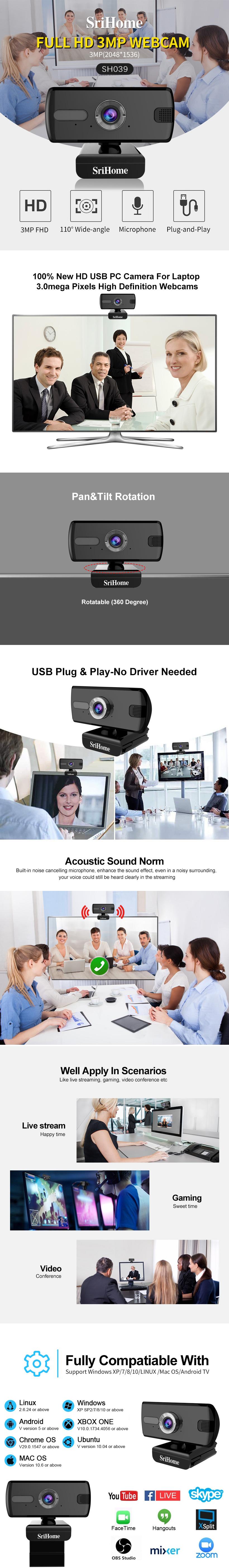webcam sricam sh039
