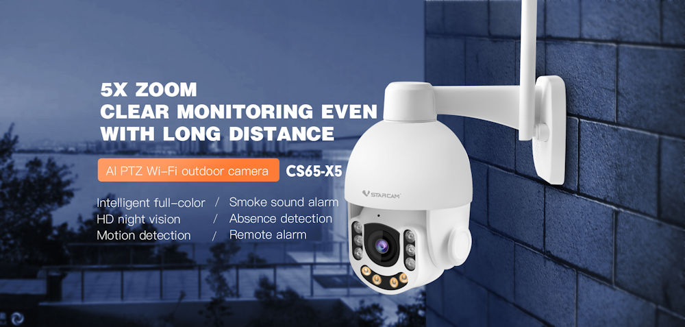 camera wireless vstarcam cs65-x5