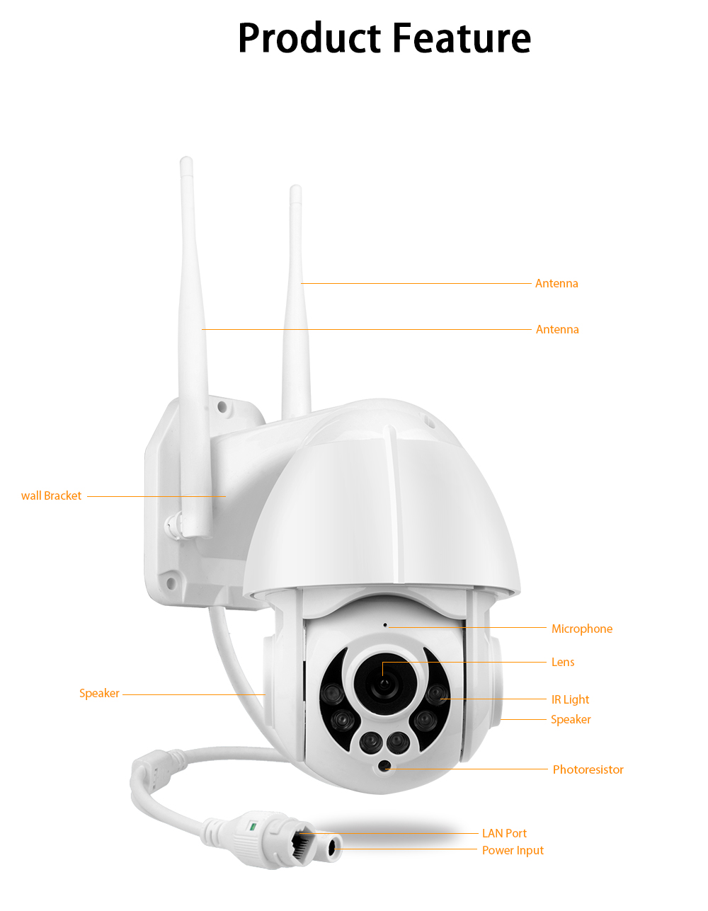 camera ip wireless eyecam k38d