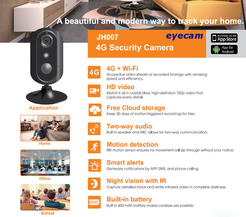 camera-supraveghere-wireless-ip-wifi-4g-720p-jh007-30